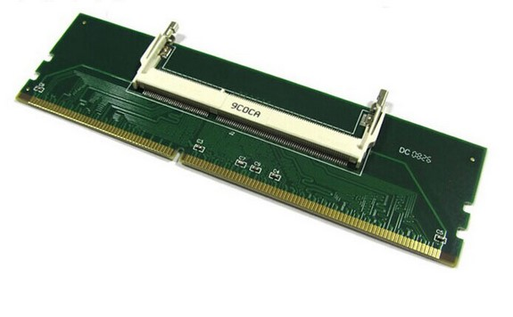 Laptop 204pin to Desktop 240pin DDR3 Memory RAM Adapter